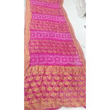 Pure Chiffon Bandhani Saree
