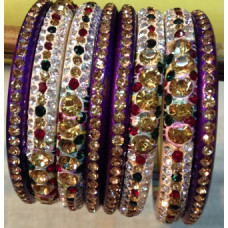 lakh Purple Bangles