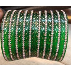 Green Seep bangles