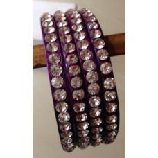 Purple 4 Lakh Bangles
