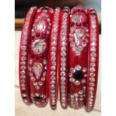 Red Lakh Bangles