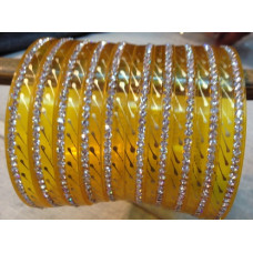 Yellow Seep Bangles