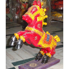 Hand Crafted Jumping Horse