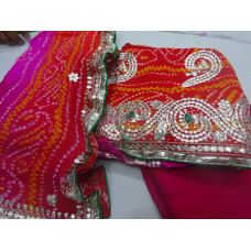 Bandhani Dress Material