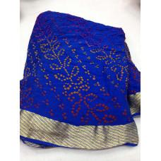 Pure Crepe Bandhani Saree