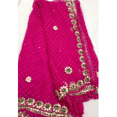 Pure Georgette Mothda Saree