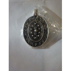 Handcrafted Sterling Silver Plated Pendant