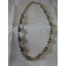 Handcrafted Sterling Silver Plated Neck Chain