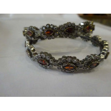 Handcrafted Sterling Silver Plated Kada