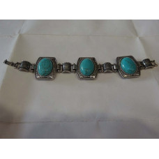Handcrafted Sterling Silver Plated Bracelet